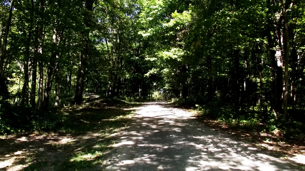 B-Road to North end of park