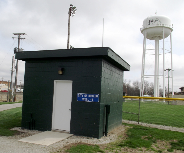 Well 4 and Water Tower